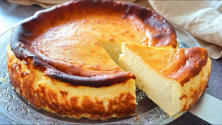 Tarta de queso de La Viña. ¡Una auténtica LOCURA!