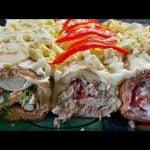 Tres piononos salados Tres colores Sin TACC  Mi receta de cocina