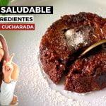 VOLCÁN DE CHOCOLATE - FONDANT - FLUIR (PASTEL DE LAVA) 5 INGREDIENTES  Mi receta de cocina