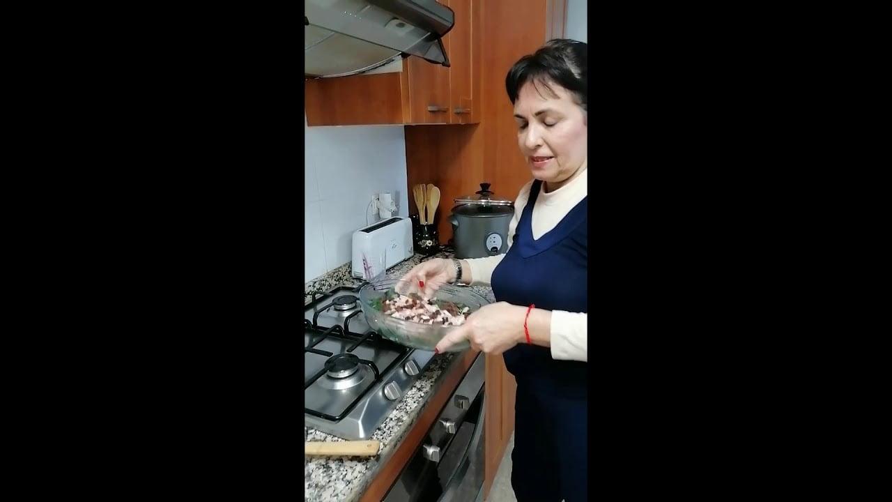 recetas cocina rápidas. Espinacas gratinados al horno