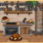 ¡Cocinando 5 (¡Ñamm! :b) recetas de comida festiva en Toca Life: World! (Especial 80K)/ Toca Nari