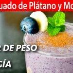 Licuado de Plátano y Mora Azul para Bajar de Peso y tener Energía | #VickyRecetaFacil