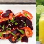 El RETO semana 1 Recetas para Perder Peso Alcachofas rehogadas y Ensalada de Remolacha