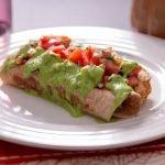 #Receta Flautas de Pollo saludables para el almuerzo  | Receta para perder peso, Vida saludable