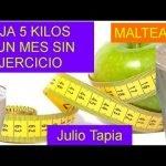 Malteada para bajar de peso de 5 a 10 kilos sin ejercicio comprobado me funcionó