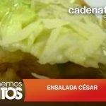 Receta ensalada César / Receta fácil de ensalada / Ensalada para bajar de peso