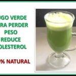 JUGO VERDE PARA PERDER PESO | Receta Jugos 02 | Alto en Fibra, Mejora la Circulación, 100% Natural