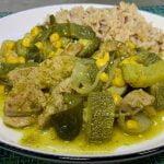 Almuerzo o Cena p/ Bajar Colesterol y Triglicéridos LOMO EN SALSA VERDE Rico y Sano |Cocina de Addy