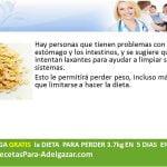 dietas y recetas para adelgazar: dieta para perder peso con avena