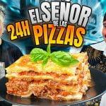 24 Horas COCINANDO recetas de EL SEÑOR DE LA PIZZAS 🍕 | PINO PRESTANIZZI