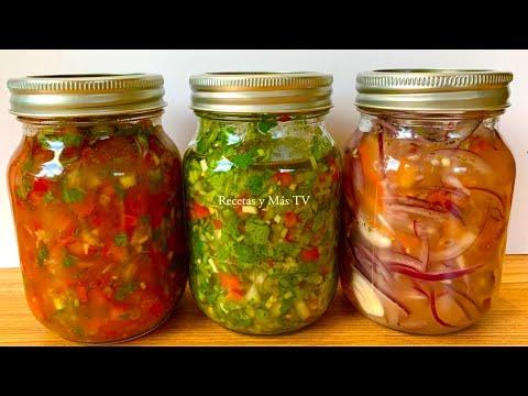 3 Salsas Riquísimas para tus carnes, mariscos y recetas