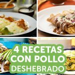 4 recetas con pollo deshebrado | Kiwilimón