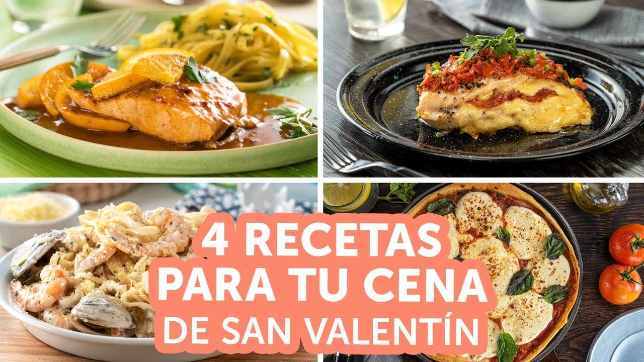 4 recetas para tu cena de San Valentín | Kiwilimón