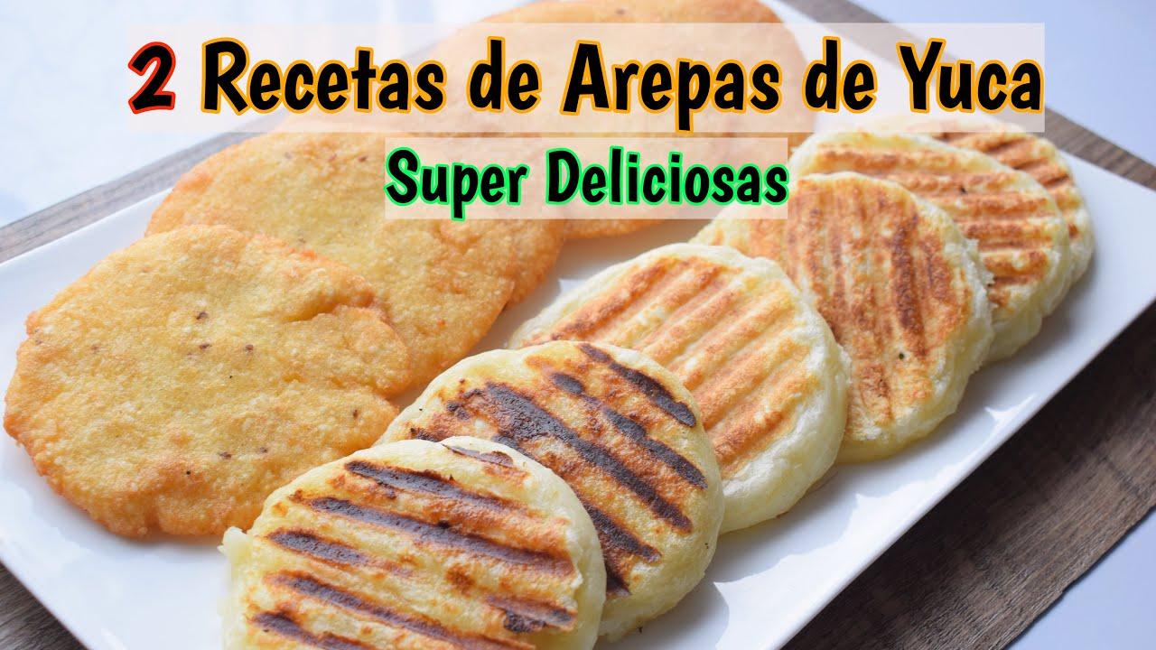 Arepas de yuca o mandioca, casabe/2 Recetas/cocina con kaju