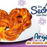 Argollas de Pan Rellenas de Dulce de Leche  Mi receta de cocina