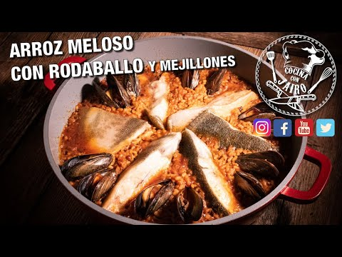 Arroz Meloso con Rodaballo - Recetas de Cocina
