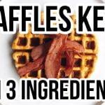 🥞 BEST KETO WAFFLES | WAFFLES KETO CON 3 INGREDIENTES FACILES Y RAPIDOS | Manu Echeverri