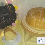BIZCOCHO ESPONJOSO DE NARANJA-SamR  Mi receta de cocina