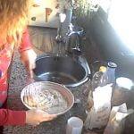 BIZCOCHO VEGANO DE PERA Y CANELA PARTE 1  Mi receta de cocina