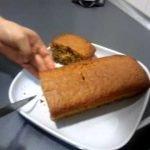 Bizcocho finalizado. Recetas de Comida 10. La Cocina de Arlin. Canal Cocina.  Mi receta de cocina