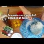 ➡Budin sin tacc (Elaborado con arroz con leche)  Mi receta de cocina