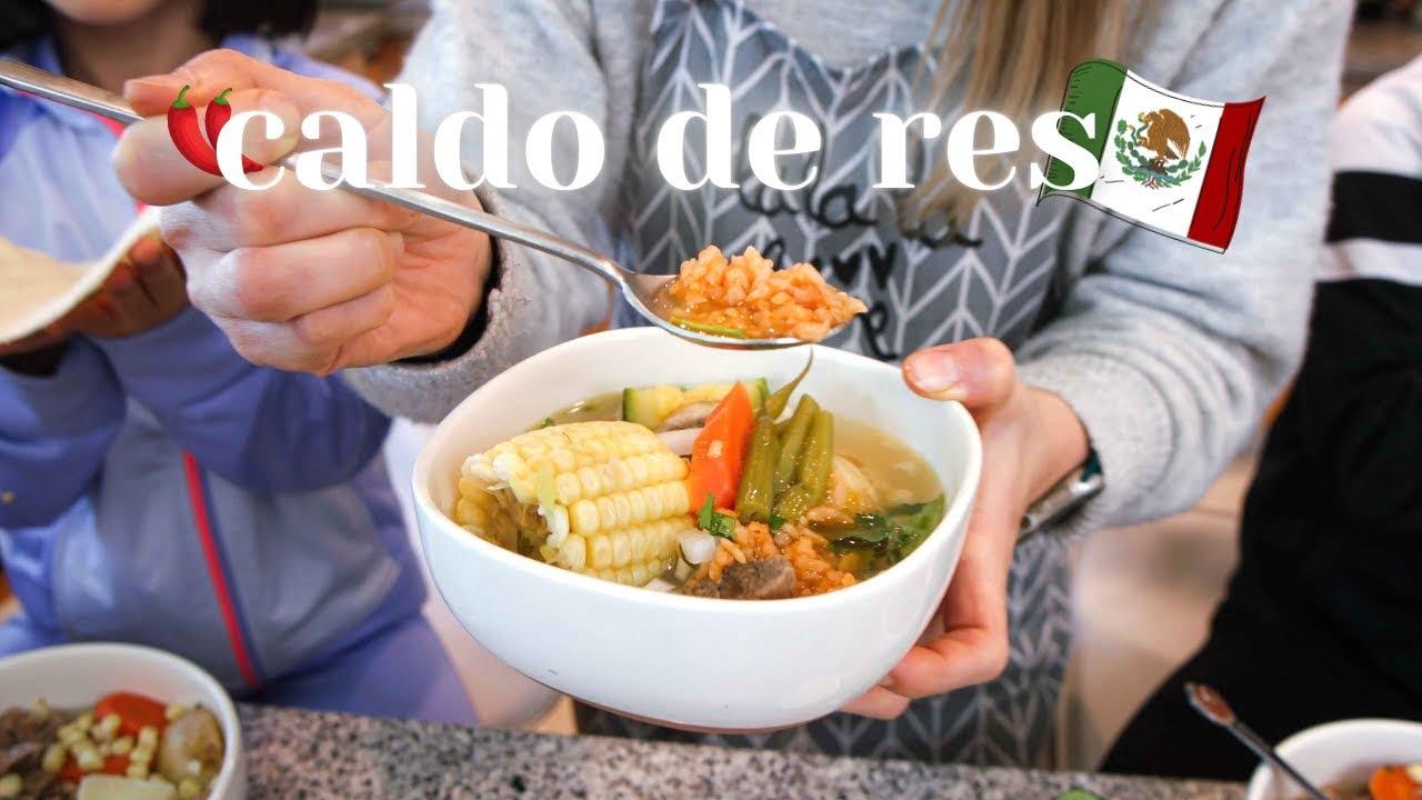 Caldo de Res Mexicano (feat. receta Jauja Cocina Mexicana)ㅣFamilia Mexicoreana