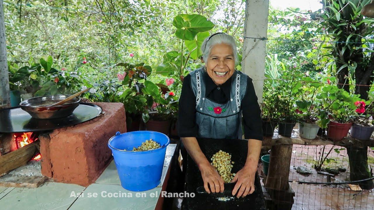 Cocinando una Receta de más de 100 años Así se Cocina en el Rancho