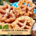 Como hacer flores de carnaval o flores fritas un postre típico de semana santa. ¡Esta brutal!  Mi receta de cocina