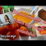 Cómo hacer salsa de tomate saludable y dejar la de bote fuera de combate