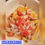 Cómo hacer unas papas fritas diferentes y rápidas❤🙌. #papasfritas #recetas #cocina #quesocrema