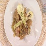 Conejo con cebolletas Recetas Cocina Mira la vida