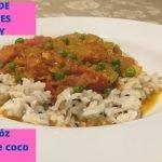 Curry de Jitomates Cherry con Arroz en Leche de Coco || Cherry Tomato Curry with Coconut Rice  Mi receta de cocina