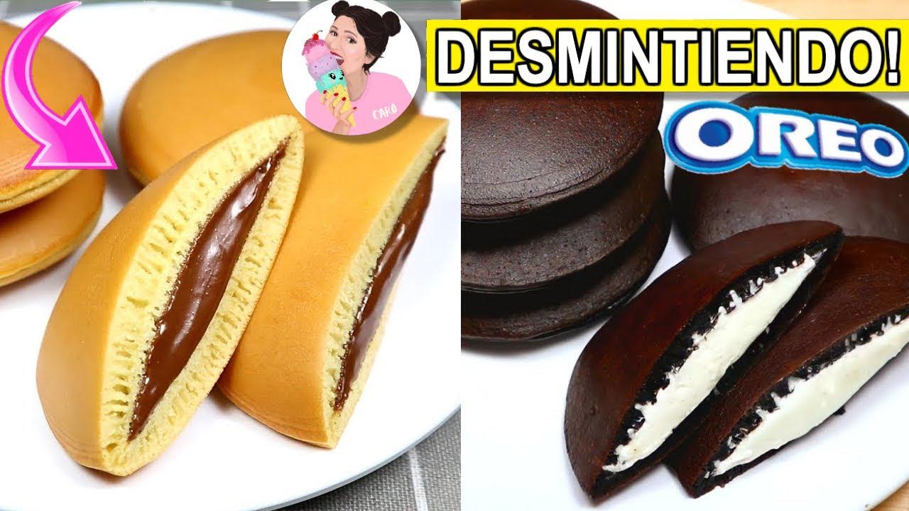 DORAYAKI de OREO y NUTELLA: PANQUEQUE JAPONÉS de DELMIRA COOKING.. FUNCIONARA?- Caro Trippar