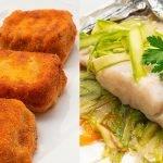 Delicias de mejillón - Merluza con espárragos verdes al papillote - Cocina Abierta