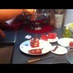 Ensalada de queso, sandia y anchoas. Recetas de Cocina 10. La Cocina de Arlin. Canal cocina.