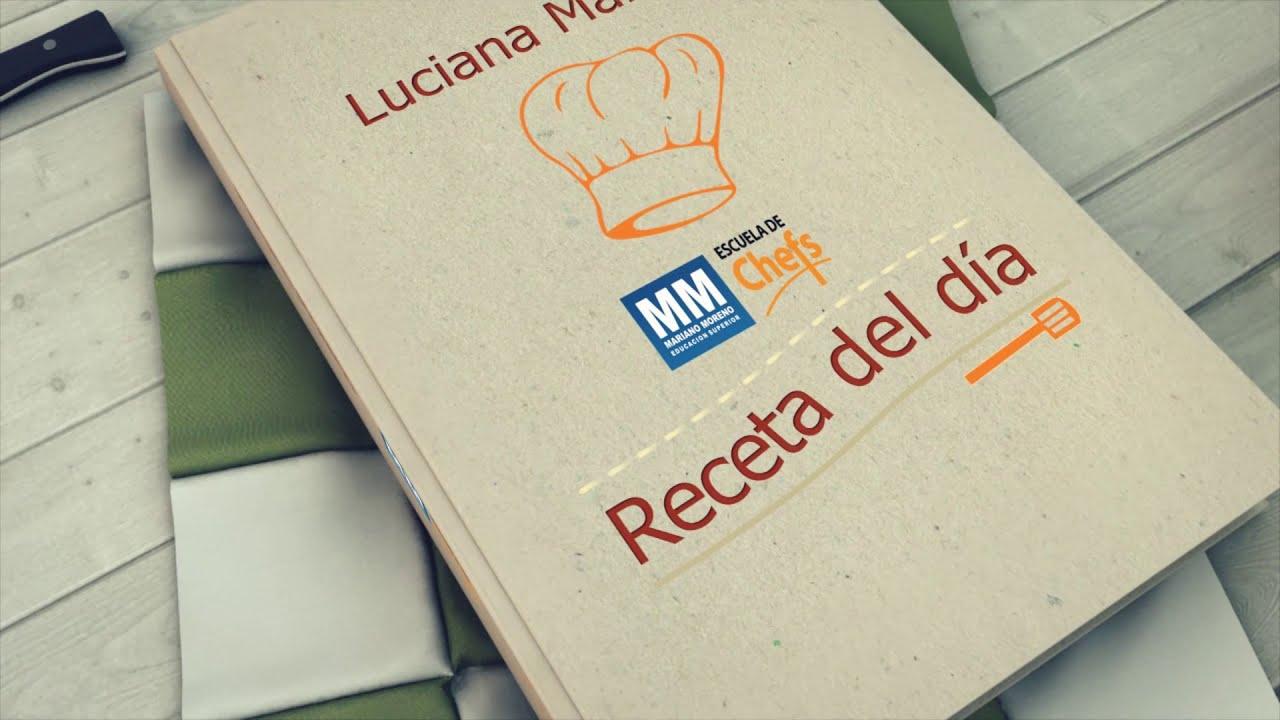 Escuela de Chefs: Receta de Cocina Saludable