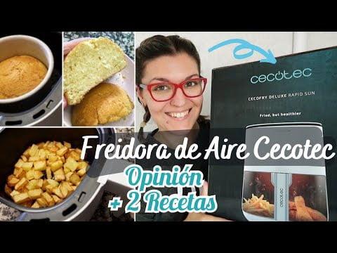 FREIDORA DE AIRE CECOTEC Opiniones *FREIDORA Sin Aceite CECOFRY Recetas*