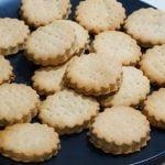 GALLETAS DE MANTEQUILLA SALADAS - Receta 115  Mi receta de cocina
