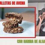 GALLETAS VEGANAS DE AVENA Y ALGARROBA | Receta sin azúcar y sin gluten  Mi receta de cocina