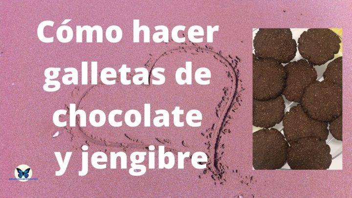 GALLETAS de chocolate-jengibre || Recetas de cocina