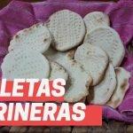 Galletas Marineras SIN GLUTEN(Galletas saladas sin tacc)  Mi receta de cocina