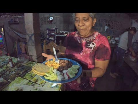 Huevos Marineros con Mango Tierno, otra receta de MAMA TEY