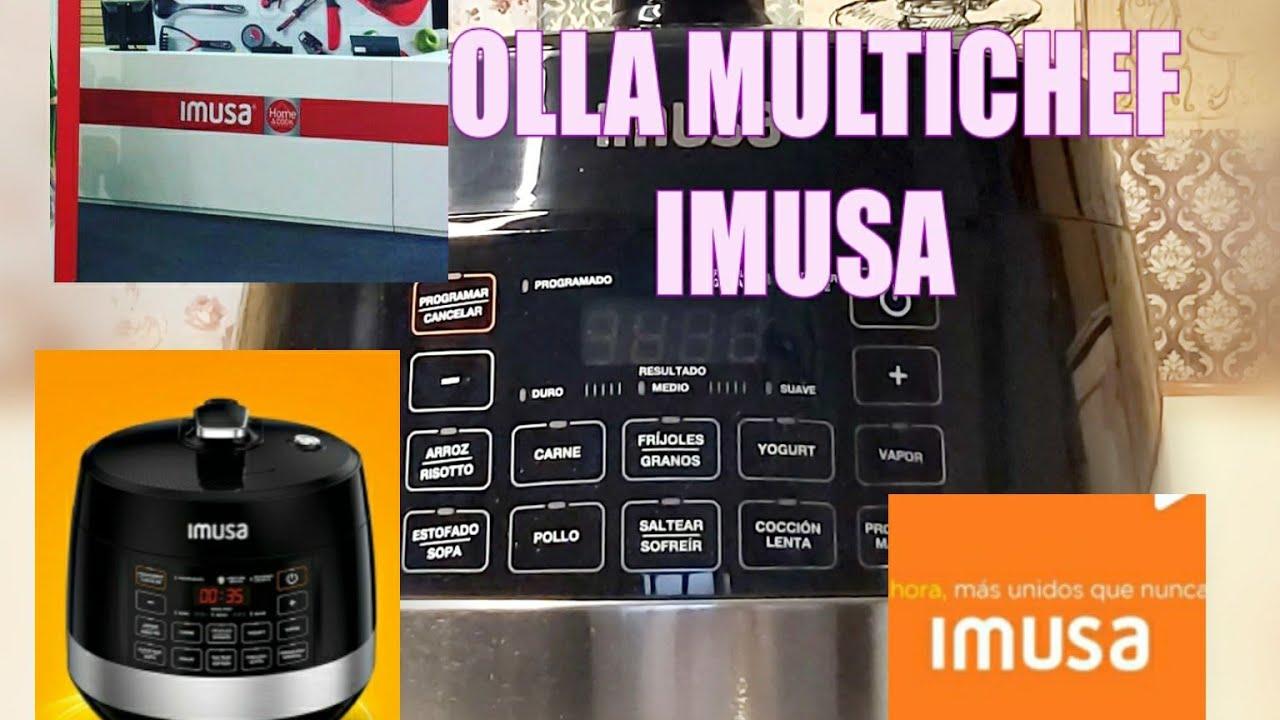 IMUSA OLLA MULTICHEF unboxing #imusa #recetas #cocina