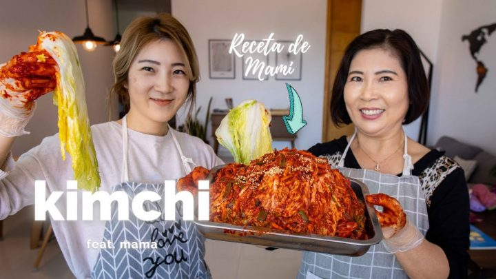 Kimchi con mi MamaㅣReceta de KimchiㅣCoreanas en Mexico