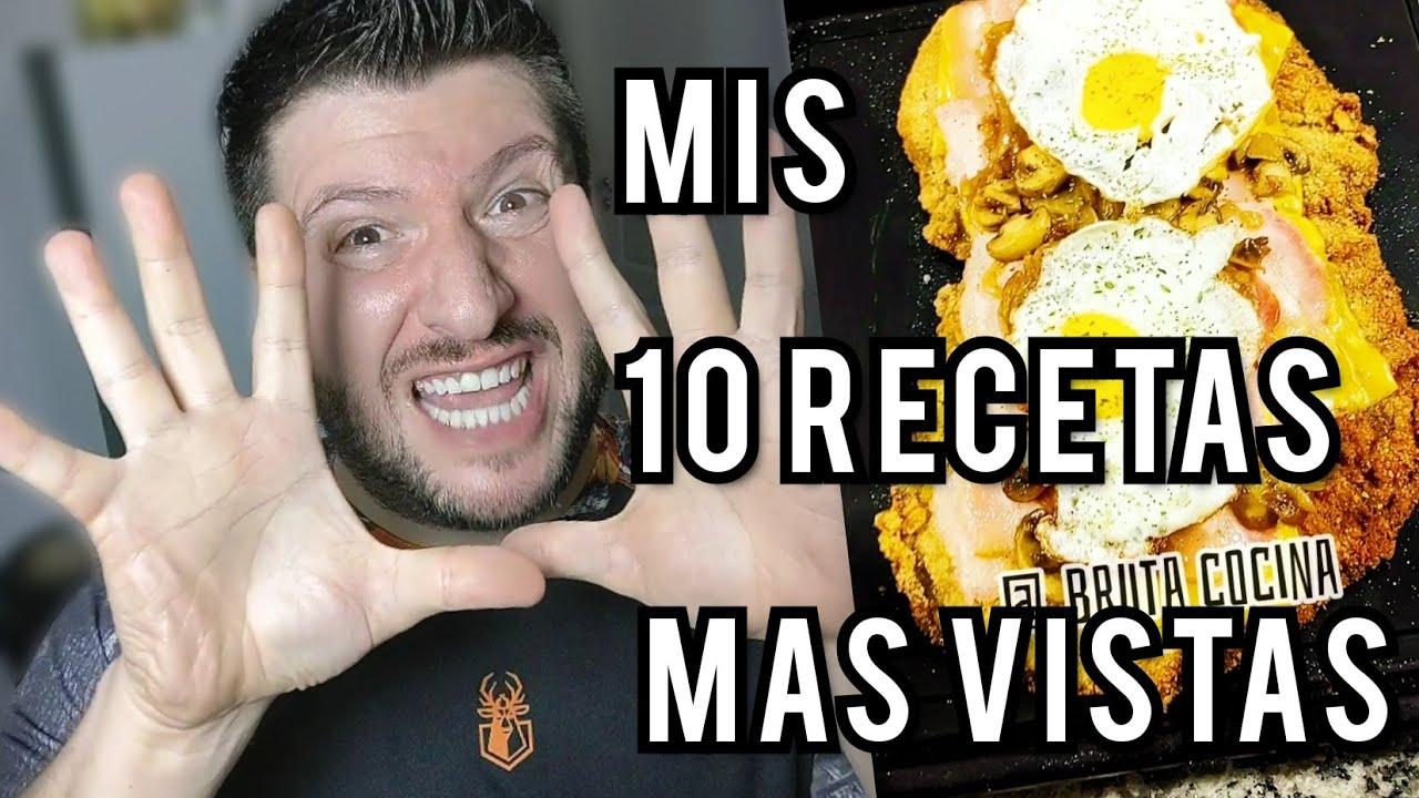 LAS 10 MEJORES RECETAS DE BRUTA COCINA el cocinero más HIBRIDO de you tube y TIK TOK