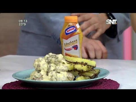 """La Cocina de LMCD: Receta del día """"Albóndigas en salsa de mostaza y arroz"""""""