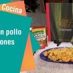 """Libro """"Costa muy rica"""": Receta de Arroz con pollo y camarones"""