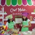 Minichefs Receta de Magdalenas fáciles (Muffins) -  Escuela de Cocina del Chef Malin  Mi receta de cocina