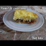 PASTEL DE CUARESMA SIN TACC  CELIAMARIANG  Mi receta de cocina