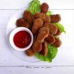 Patitas caseras,Nuggets sanos, súper fáciles y sin gluten, sin lactosa